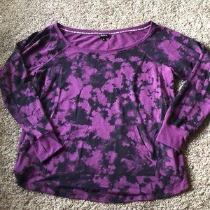 Torrid tye-dye sweater
